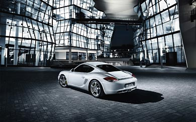 2010 Porsche Cayman S wallpaper thumbnail.