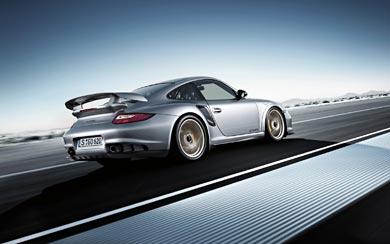 2011 Porsche 911 GT2 RS wallpaper thumbnail.
