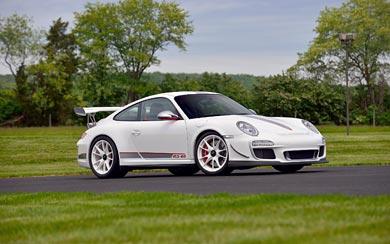 2011 Porsche 911 GT3 RS 4.0 wallpaper thumbnail.
