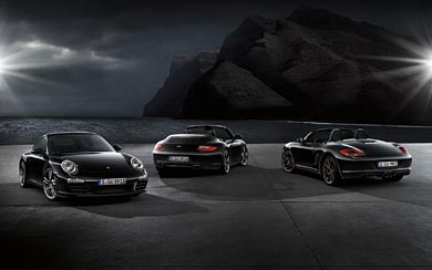 2011 Porsche Boxster S Black Edition wallpaper thumbnail.