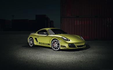 2011 Porsche Cayman R wallpaper thumbnail.