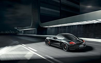 2011 Porsche Cayman S Black Edition wallpaper thumbnail.