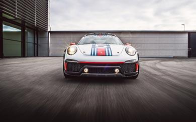 2012 Porsche 911 Vision Safari Concept wallpaper thumbnail.