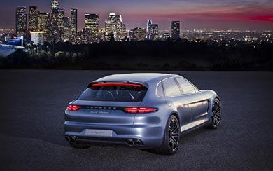 2012 Porsche Panamera Sport Turismo Concept wallpaper thumbnail.