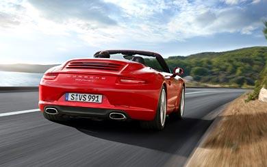 2013 Porsche 911 Carrera S Cabriolet wallpaper thumbnail.