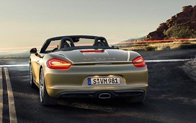 2013 Porsche Boxster wallpaper thumbnail.