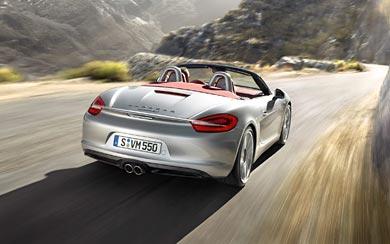 2013 Porsche Boxster S wallpaper thumbnail.