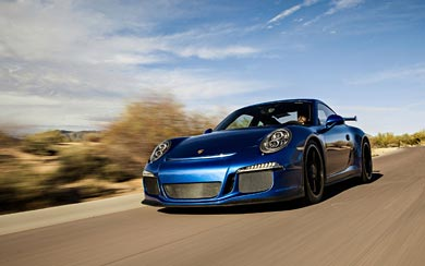 2014 Porsche 911 GT3 wallpaper thumbnail.