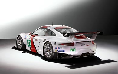 2014 Porsche 911 RSR wallpaper thumbnail.