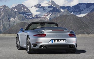 2014 Porsche 911 Turbo Cabriolet wallpaper thumbnail.
