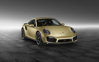 2015 Porsche 911 Turbo Aerokit wallpaper thumbnail.
