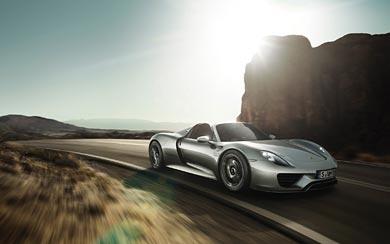 2015 Porsche 918 Spyder wallpaper thumbnail.