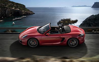 2015 Porsche Boxster GTS wallpaper thumbnail.