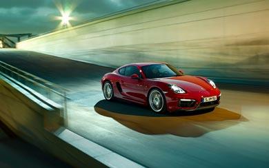 2015 Porsche Cayman GTS wallpaper thumbnail.