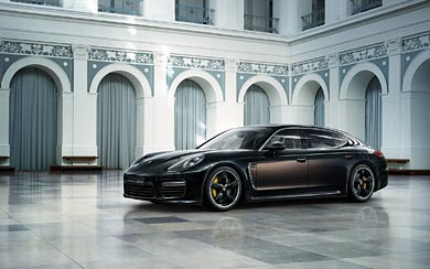 2015 Porsche Panamera Turbo S Exclusive Series wallpaper thumbnail.