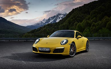2016 Porsche 911 Carrera 4 wallpaper thumbnail.