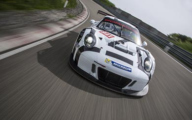 2016 Porsche 911 GT3 R wallpaper thumbnail.