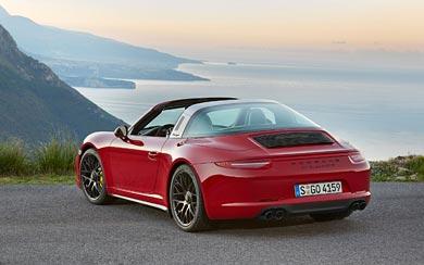 2016 Porsche 911 Targa 4 GTS wallpaper thumbnail.