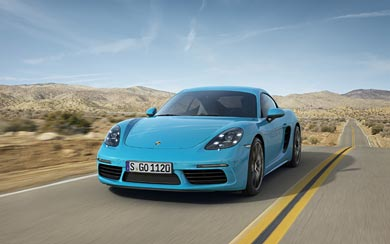2017 Porsche 718 Cayman wallpaper thumbnail.