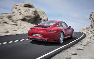 2017 Porsche 911 Carrera wallpaper thumbnail.