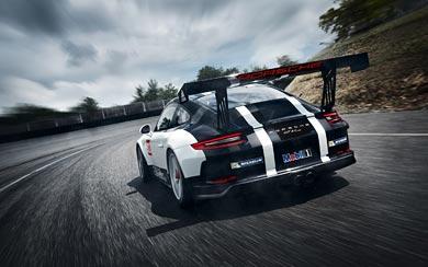 2017 Porsche 911 GT3 Cup wallpaper thumbnail.