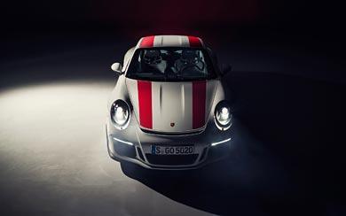 2017 Porsche 911 R wallpaper thumbnail.