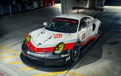 2017 Porsche 911 RSR wallpaper thumbnail.
