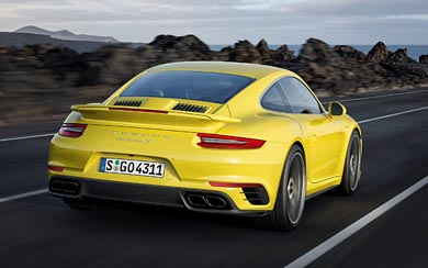 2017 Porsche 911 Turbo S wallpaper thumbnail.