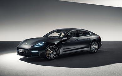 2017 Porsche Panamera Turbo wallpaper thumbnail.
