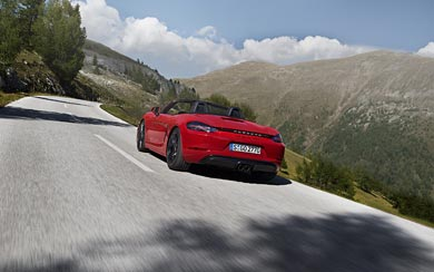 2018 Porsche 718 Boxster GTS wallpaper thumbnail.