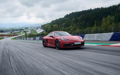 2018 Porsche 718 Cayman GTS wallpaper thumbnail.