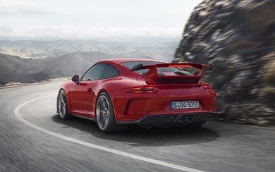 2018 Porsche 911 GT3 wallpaper thumbnail.