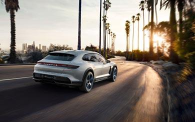2018 Porsche Mission E Cross Turismo Concept wallpaper thumbnail.