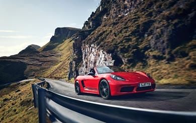 2019 Porsche 718 Boxster T wallpaper thumbnail.
