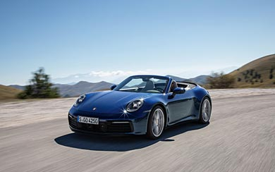 2019 Porsche 911 Carrera 4S wallpaper thumbnail.