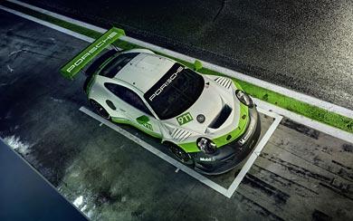 2019 Porsche 911 GT3 R wallpaper thumbnail.