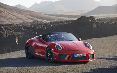 2019 Porsche 911 Speedster wallpaper thumbnail.