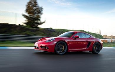 2020 Porsche 718 Cayman GTS 4.0 wallpaper thumbnail.