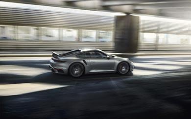 2020 Porsche 911 Turbo S wallpaper thumbnail.