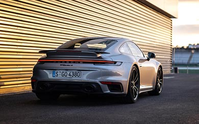 2020 Porsche 911 Turbo S wallpaper thumbnail.
