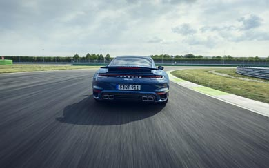 2021 Porsche 911 Turbo wallpaper thumbnail.
