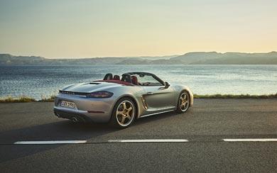 2021 Porsche Boxster 25 Years Edition wallpaper thumbnail.