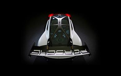 2021 Porsche Mission R Concept wallpaper thumbnail.