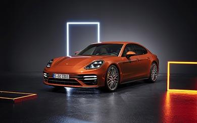 2021 Porsche Panamera Turbo S wallpaper thumbnail.