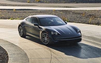 2021 Porsche Taycan 4S wallpaper thumbnail.