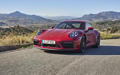2022 Porsche 911 Carrera GTS wallpaper thumbnail.