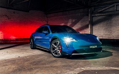 2021 Porsche Taycan 4S Cross Turismo wallpaper thumbnail.