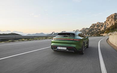 2021 Porsche Taycan Turbo S Cross Turismo wallpaper thumbnail.