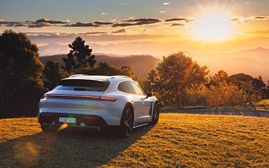 2021 Porsche Taycan Turbo S Cross Turismo wallpaper thumbnail.