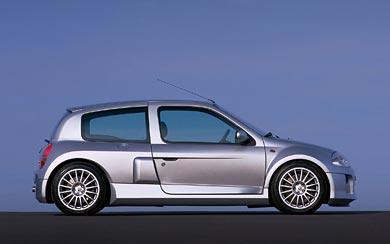 2000 Renault Clio V6 wallpaper thumbnail.